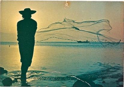 Tropical fisherman