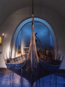 The Oseberg Ship. Photo by Mårten Teigen of Museum of Cultural History, Oslo