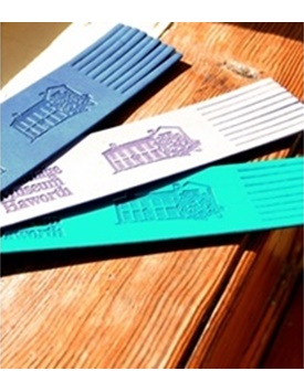 Bronte Parsonage Leather Bookmarks