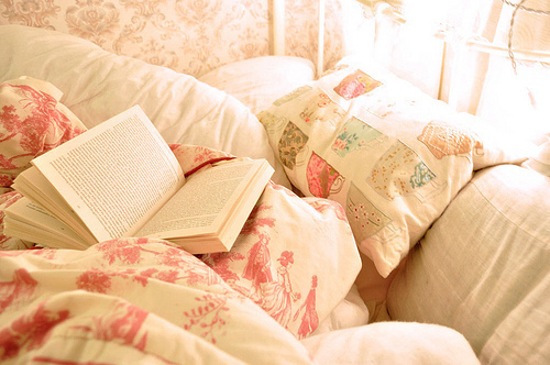 cosy bed:book