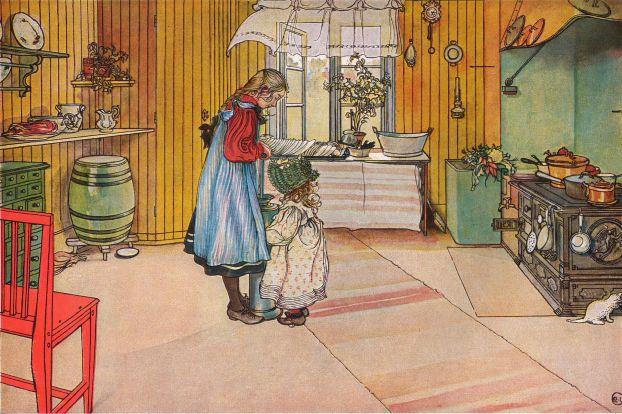 Köket_av_Carl_Larsson_1898