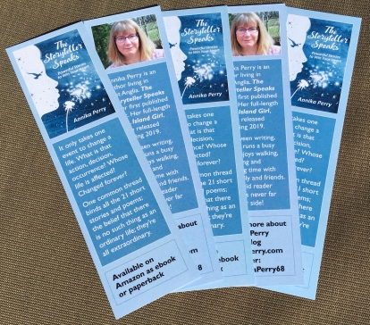 The Storyteller Speaks Bookmarks